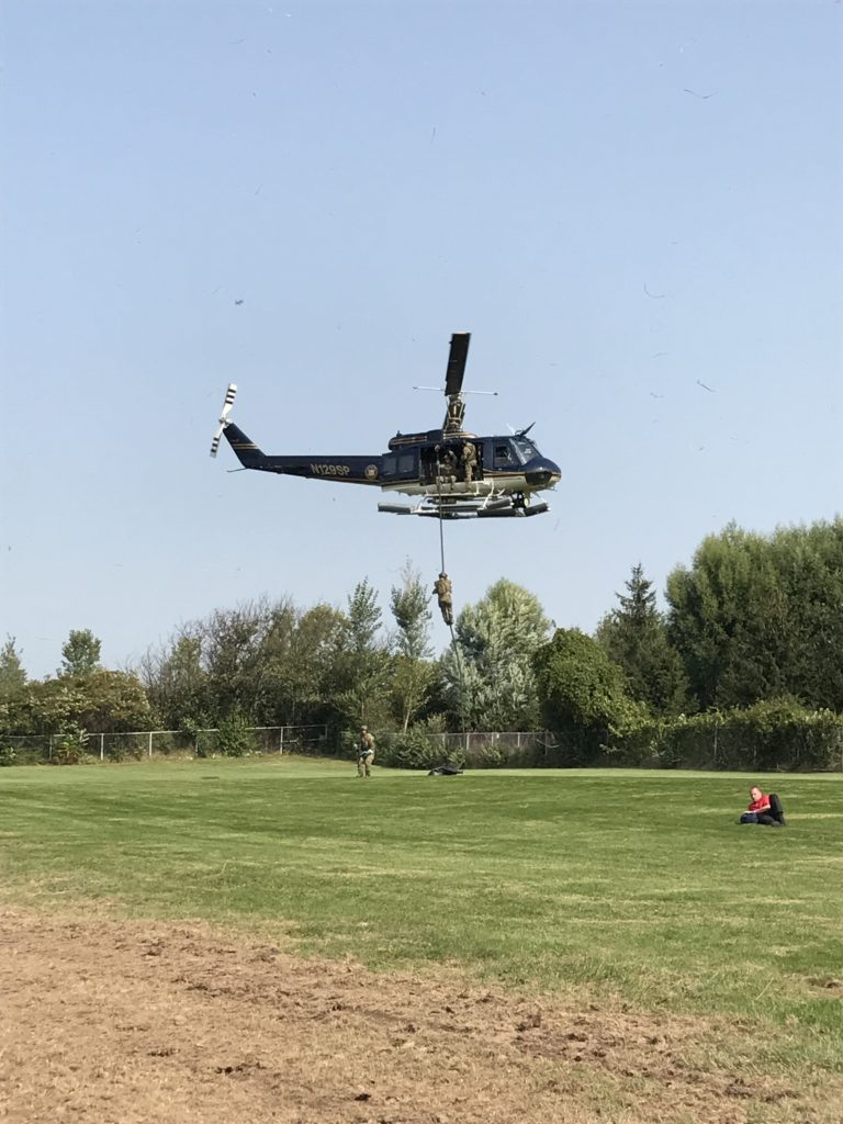 NYSP Troop E helicopter