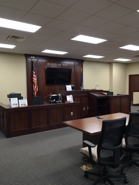 courtroom construction