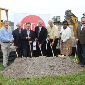 commercial real estate groundbreaking
