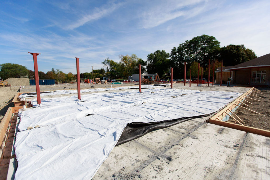 new building expansion